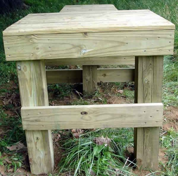 Shooting Bench Plans - Downloadable Free Plans