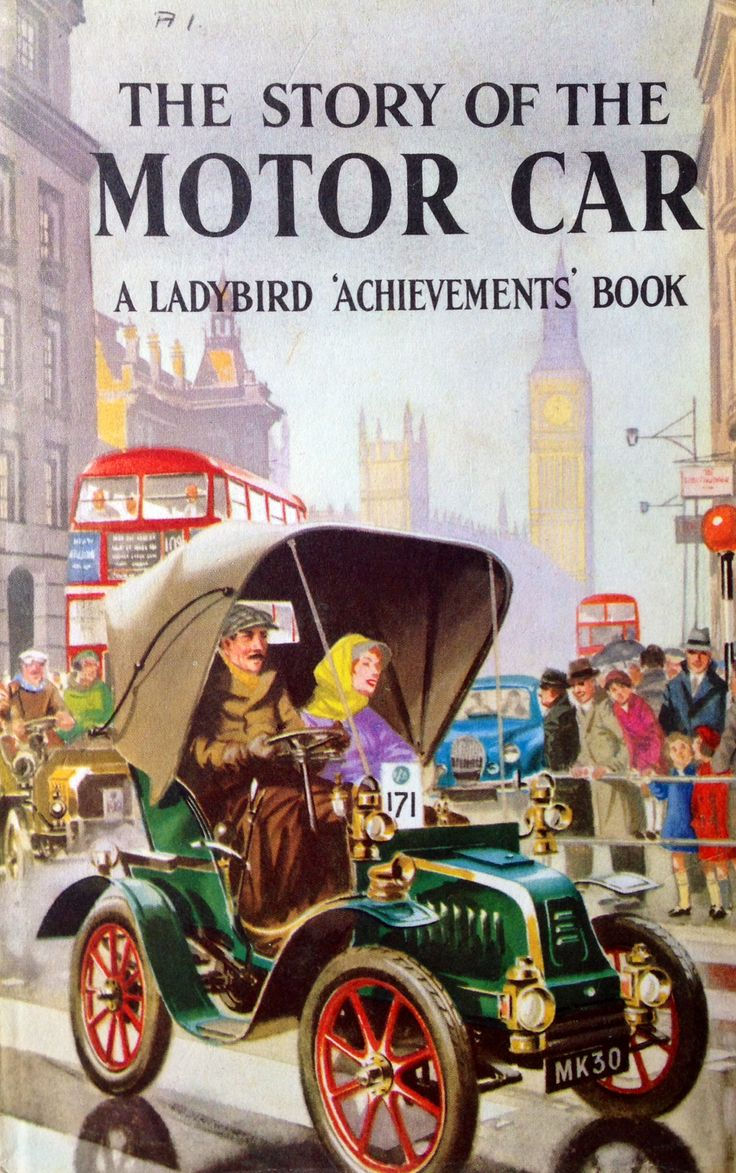 Ladybird published a couple of books about cars and this comes from the achievements series