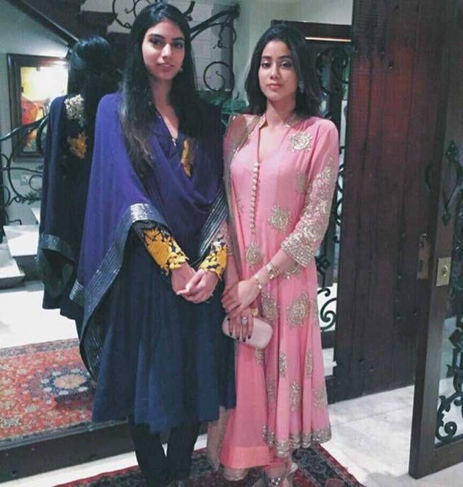 Sridevi S Daughters Janhvi Amp Khushi On Instagram