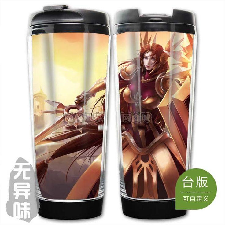 League of Legends LOL Classic Skin Leona Plastic Coffee Cup