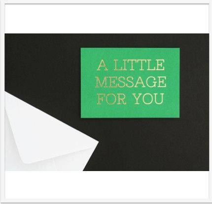 A Little Message Card via Lumley Locket - Beautiful Designs, Unique Gifts. Click on the image to see more!
