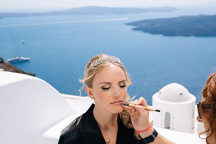 Wedding in Altavista Suites Santorini // Nicole + James