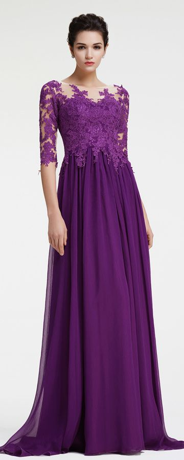 27 best mother of the groom dresses mother of the bride for Purple plus size dresses for weddings