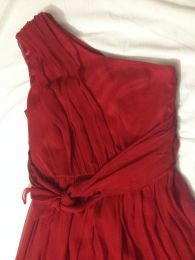 Available @ TrendTrunk.com 100% Silk BRAND NEW SEXY RED Dress Size 4. By tnt. Only $158.00!