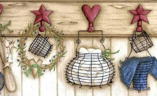 47 Best Primitive Wall Borders Images On Pinterest Wall