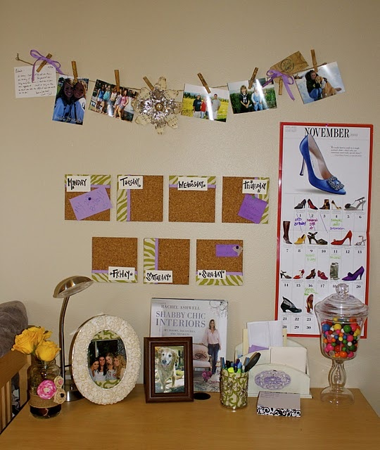 Guest Project - Make a beautiful and Functional Cork Board Calendar! - Design & Decor - ShelterHub