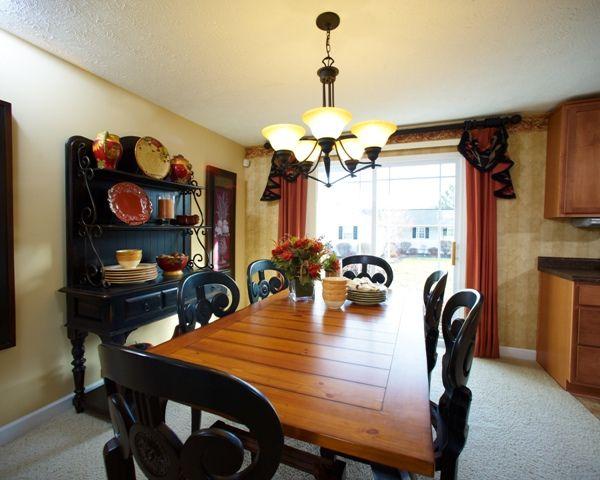 Akron medina oh brighton model dining room