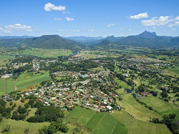 Mt Warning and valley