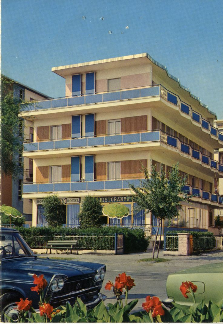 The old #HotelRudyCervia: #Front #view