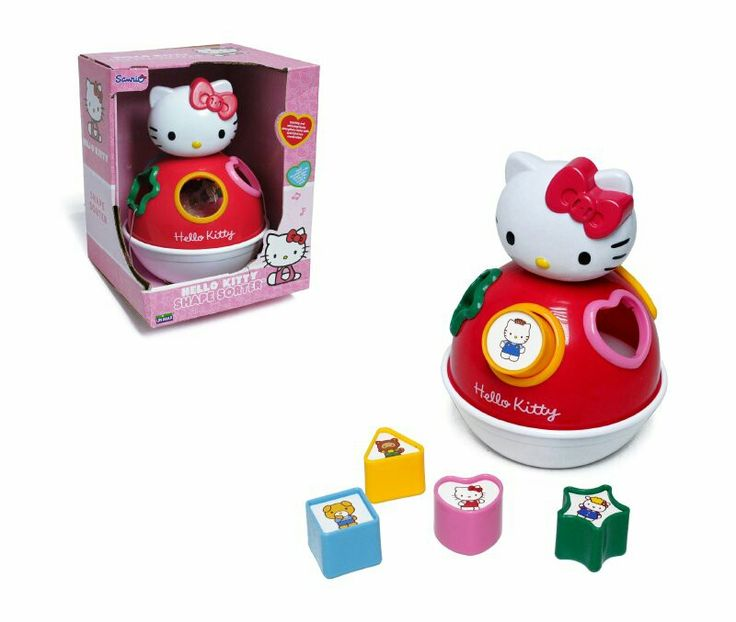 Esfera musical con figuras de encaje hello kitty