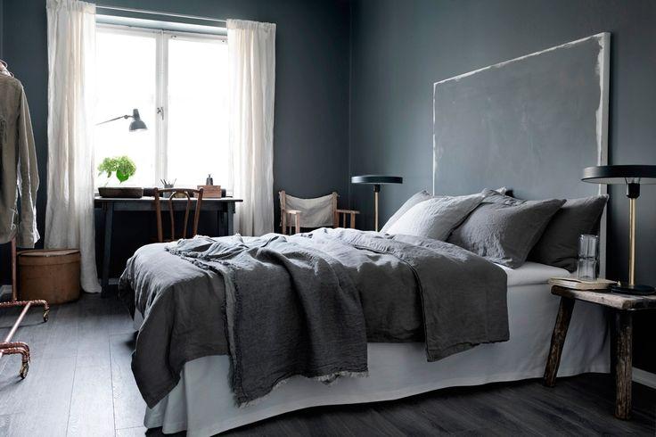 fondvägg sovrum