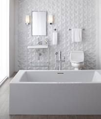 White Textured Tile Bathroom   Google Search . Part 28