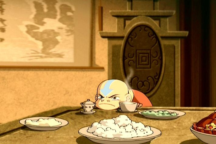 When I'm waiting for my food to cool down.  Avatar: The Last Airbender