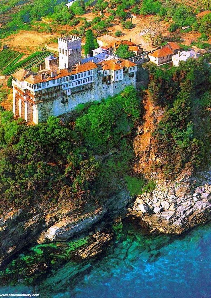 Stavronikita Monastery ~ Mount Athos, Greece