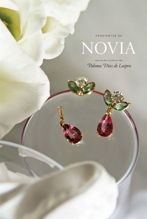 la firma de joyera grassy presenta su nueva coleccin de pendientes para novia joyas