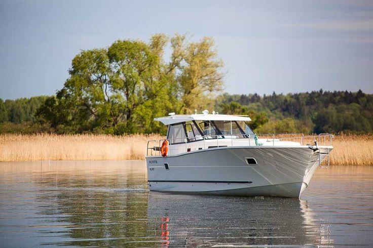 Hausboot in Masuren Polen auf der Masurischen Seenplatte, Hausbooturlaub ohne Führerschein, Yachtcharter Masuren #polen_hausboote