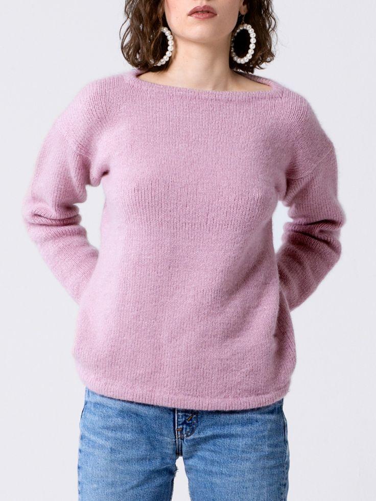 Kostenlose Strickanleitung: Oversize-Pullover - Initiative ...
