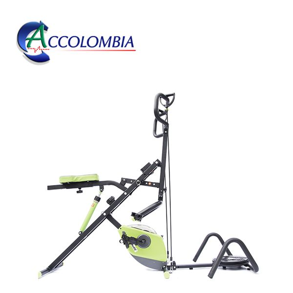 Total Crunch Bike Family Combo 7 en 1 Color Verde