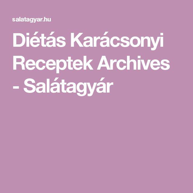 Diétás Karácsonyi Receptek Archives - Salátagyár