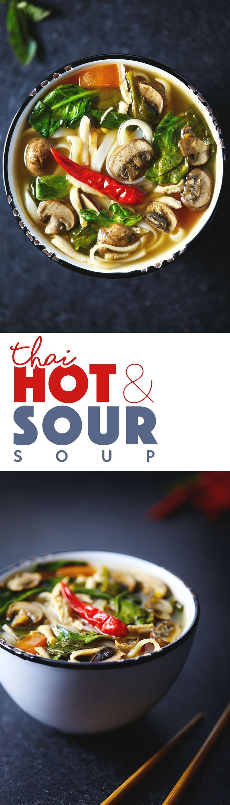 A soup inspired by Thai Tom Yum. This vegan version is infused with the flavors of fresh lemongrass, ginger and spicy thai chili peppers. Vegan & Gluten Free.