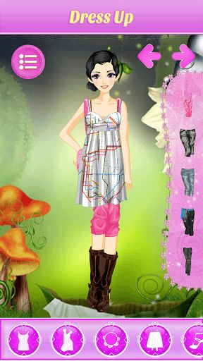 Find your inner fashionista - create new looks and styles for your Cute Princess DressUp Salon.<p>Design your own princess girl with this dress-up game! It is sure to be a game your kids will love. You get to choose her hair, eyes, skin, dress, jewelry, handbag and more. Choose one magazine cover that you can take a picture for her.<p>** Features **<br>- Huge variety of fashion items,including dresses, shoes, jewelry, bags and hairstyles.<br>- Help her do her hair, skin, eyes, eyebrows…
