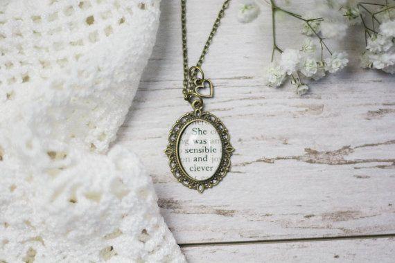 Sinn und Sinnlichkeit Jane Austen Antik von AuthoredAdornments