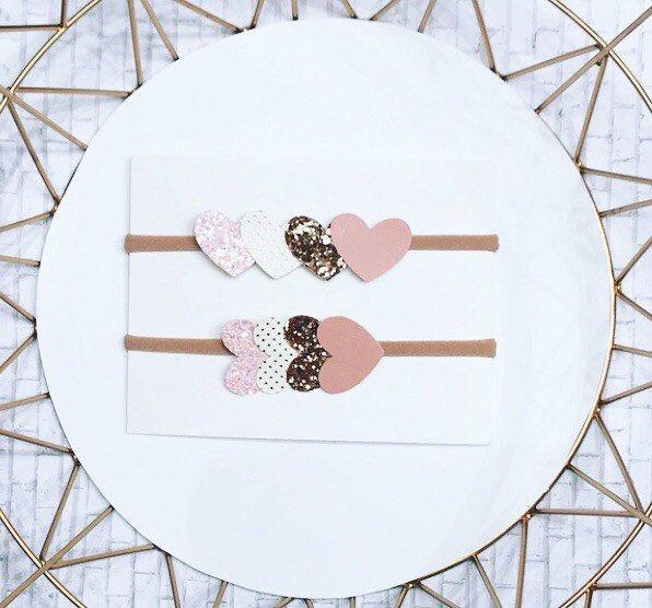Heart headbands.