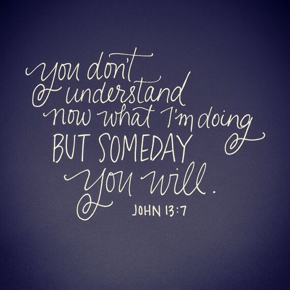 need to remember this... like... always. I look back at many things and see God…
