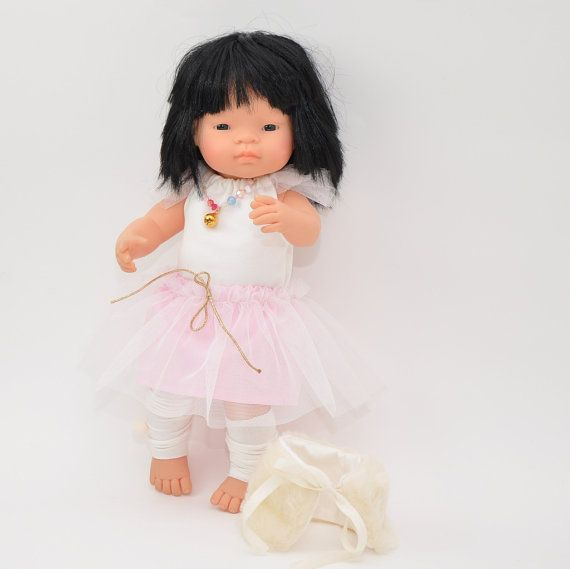 Set of doll clothes 16 inches doll  5 pieces set by Przytullale