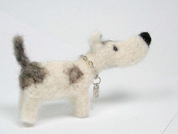 NuBo  Nadelfilz Nadel-Filzen Hund Nadel Filz Hund von Agafil