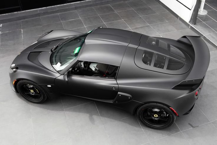 Guys, of all the cars in this world.. This was my original dream car.. Always has been! (Matte Black Lotus Exige)