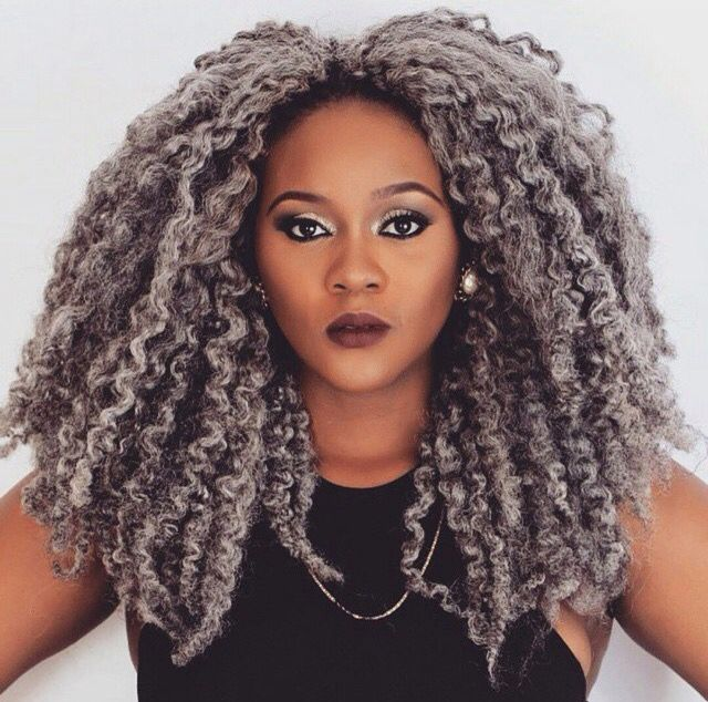 Crochet Braids Grey Hair : images about crochet braids on Pinterest Crochet braids, Marley hair ...