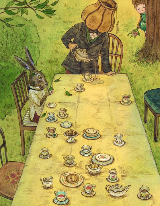 Chapter 7 : A mad tea-party