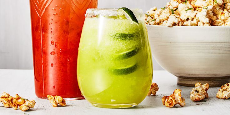 Swap out a salt rim for sugar to enhance this honeydew cocktail's subtle sweetness.