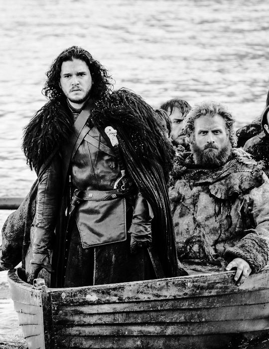 Game of Thrones Jon Snow & Tormund Gianstbane