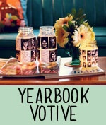 This is a great idea to make unique centerpieces for your graduation party!  You could do this with almost any glass jar, and Old Time Pottery has a huge selection of glass jars to choose from!  http://www.oldtimepottery.com/