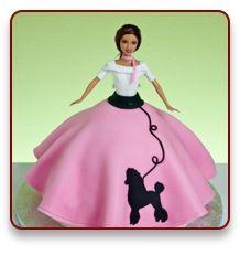 Birthday Sock Hop cake