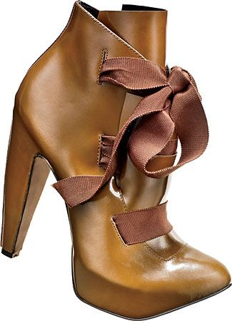 CYNTHIA ROWLEY booties (495USD), at 810 W. Armitage Ave. and 1653 N. Damen Ave.