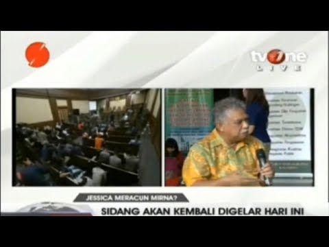 Chudry Sitompul: Mirna Tidak Perlu Di Otopsi, Cairan Dilambung Sudah Jad...