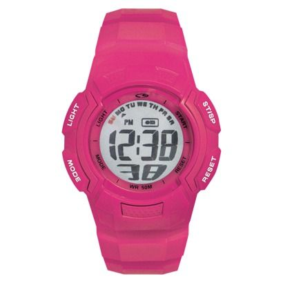 C9 by Champion® Women's Plastic Strap Digital Watch - Pink