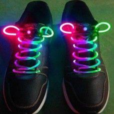 LED Shoelaces (Multi-Coloured)
