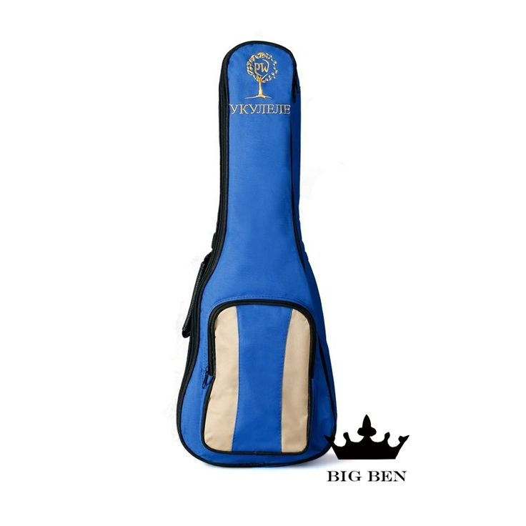 21.12$  Watch now - Freight free small guitar thicken bags 23 24inch Ukulele backpack beautiful little blue guitar bag thickening sponge waterproof  #magazine