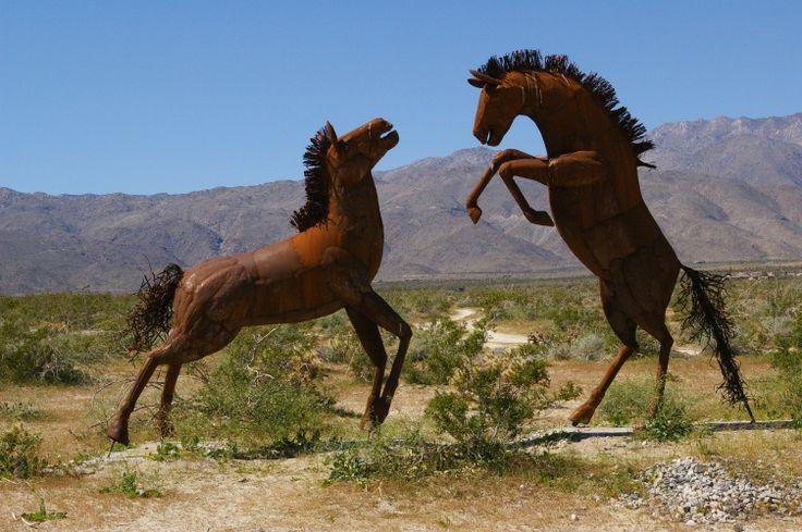 Metal Sculptures, Anza Borrego Desert, CA