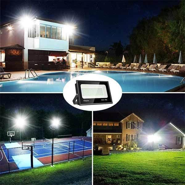 10W-100W LED Fluter Flutlicht Garten Außen Baustrahler Scheinwerfer Hotel IP66#