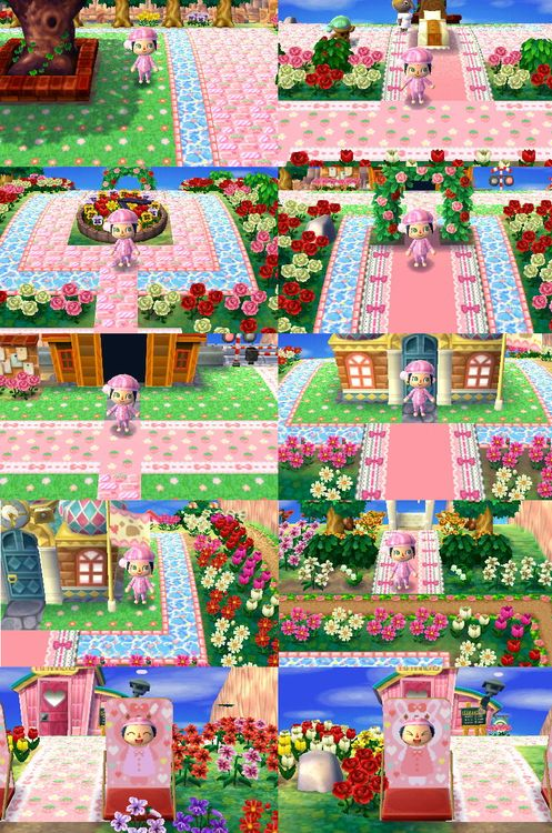 89 best images about acnl town inspiration on pinterest for Modern house acnl