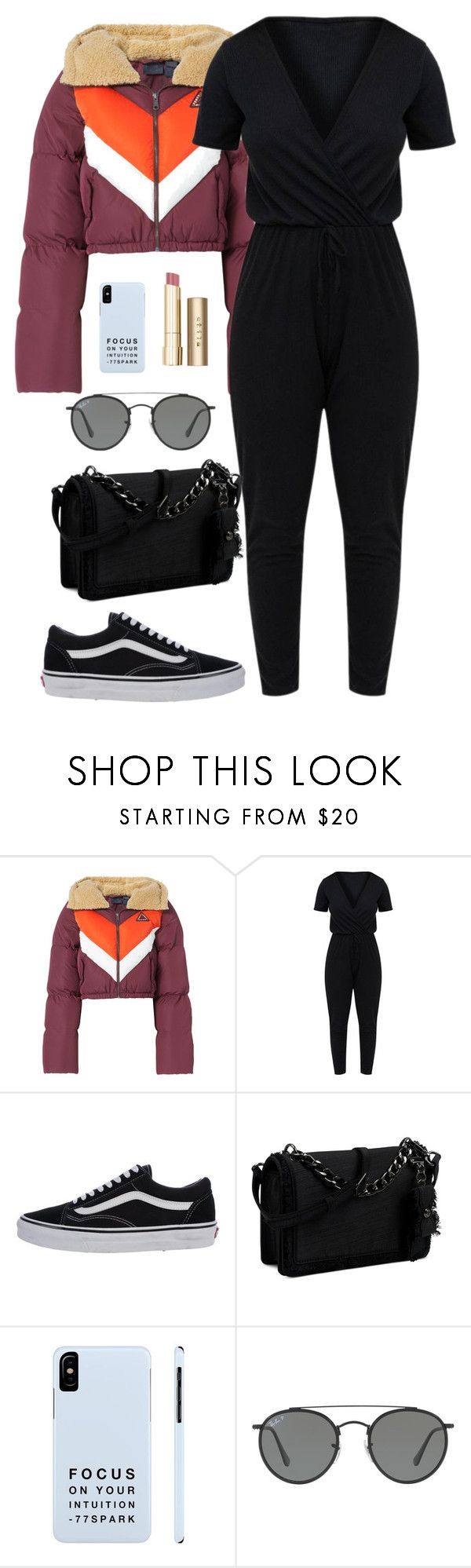 """""""You don't have to be perfect to be amazing"""" by chase-stars ❤ liked on Polyvore featuring Puma, Vans, Nine West, Ray-Ban and Stila"""