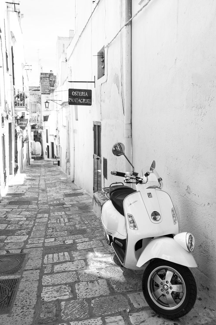 Vespa in White by Emanuele Colombo on 500px