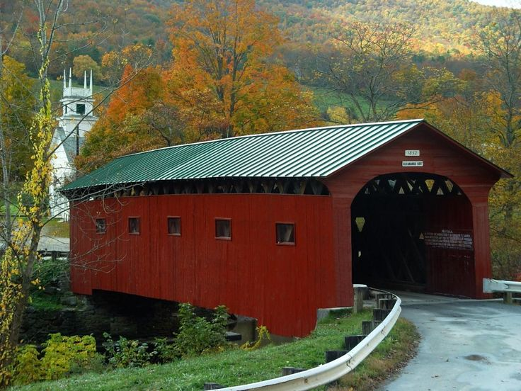This is an interesting blog with several photographs of Covered Bridges {Love} | Snippets of Design