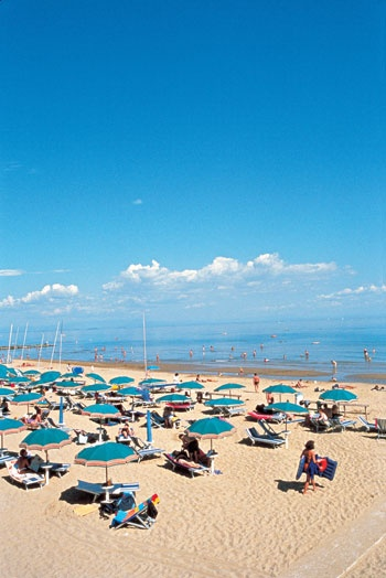 Lignano Sabbiadoro Italy. One of the best vacations I've ever taken!