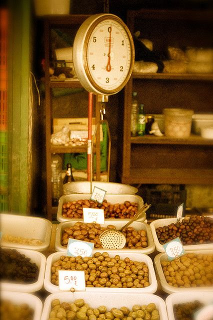 Olive Market in Athens, Greece by scbailey.
